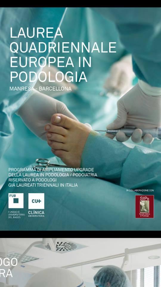 Programma di ampliamento upgrade della Laurea in Podologia/Podoiatria